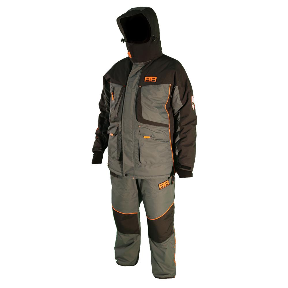 Костюм зимний для рыбалки Adrenalin Republic Rover -25, черный/серый M (78149)Костюмы/комбинезоны<br>Костюм состоит из куртки и штанов. Специальная конструкция подкладки с зонами, улучшающими отвод влаги, усилением материала в области колен и седалища.<br>