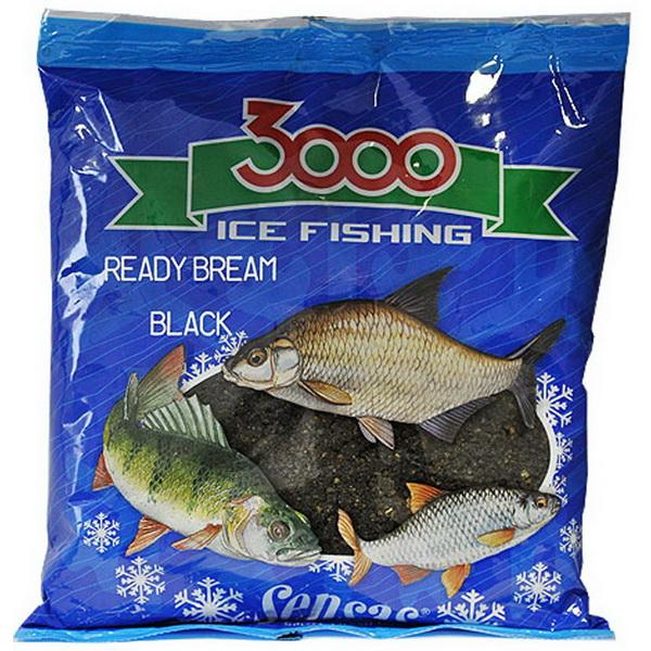 Прикормка Sensas зимняя готовая 3000 Bream Black 0,5кг