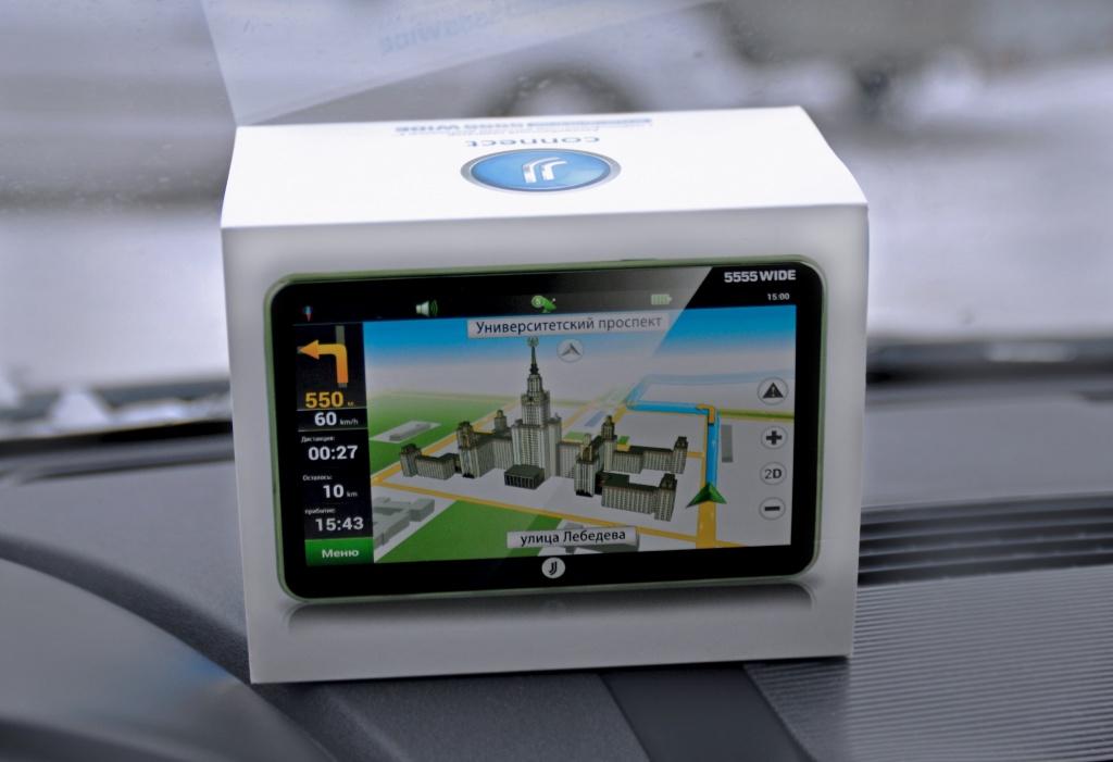 Навигатор JJ-CONNECT AutoNavigator 5555 Wide