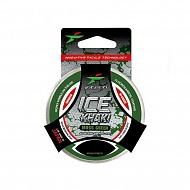 Леска Intech Ice Khaki 50m moss green