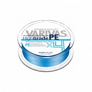 Леска плетеная Varivas High Grade PE X4, Water Blue, 150m