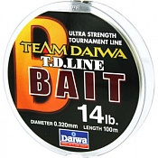 Леска Team Daiwa Line Bait Camoflage Brown ...
