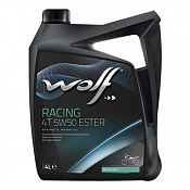 Масло Wolf Racing 4T 5W50 Ester 4L