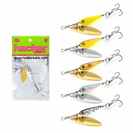Блесна Hacker Spinner Minnow Long, 5 гр.