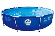 Бассейн JILONG ROUND STEEL FRAME POOL  ...